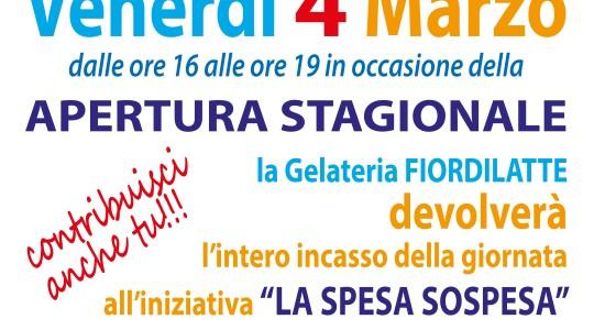 Il 4 marzo riapre la gelateria Fiordilatte: ottimo gelato e grande finalità sociale.