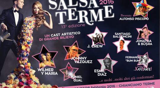 Dal 26 al 28 febbraio, 13° edizione del Salsa Terme