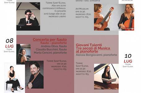 3/o festival internazionale di classica IMOC - Dal 1 al 16 luglio a Chianciano Terme