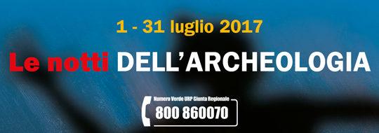 Le notti dell'archeologia - Chianciano Terme - Museo Etrusco 12 e 22 luglio 2017