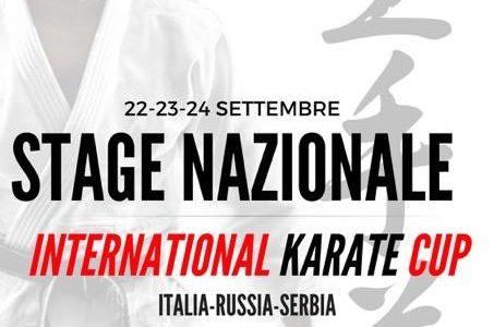 A Chianciano Terme dal 22 al 24 settembre STAGE NAZIONALE FIAM (Federazione Italiana Arti Marziali)