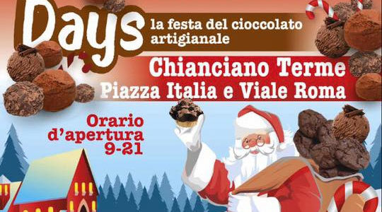 Chocolate Days - 15,16, 17 Dicembre 2017