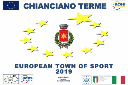 Chianciano Terme è ufficialmente Città Europea dello sport 2019