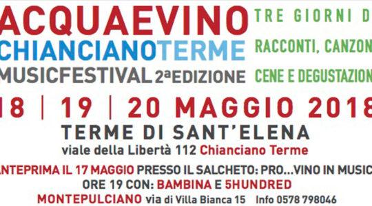 Acqua e Vino Chianciano Terme Music Festival