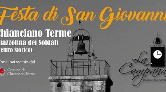 Festa di San Giovanni Battista - dal 21 al 24 Giugno 2018