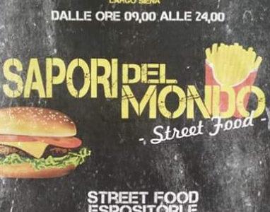 Sapori Del Mondo Street Food - 13 / 14 / 15 Agosto 2018