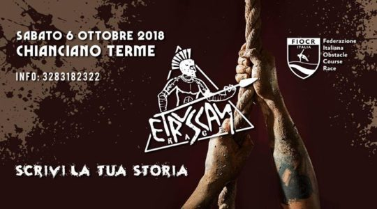"Etruscan Race ""Obstacle Race"" 2018 - Sabato 6 Ottobre - Chianciano Terme"