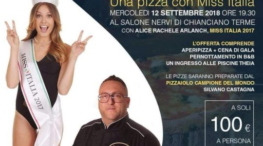 Una Pizza con Miss Italia