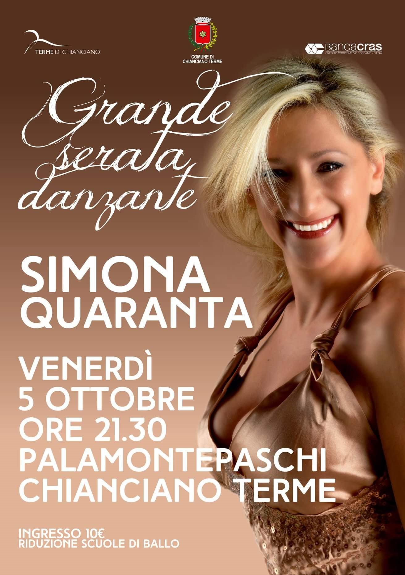 Simona Quaranta Calendario.Proloco Chianciano Terme News Informazioni Territorio