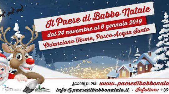V°  edizione del Paese di Babbo Natale - Chianciano Terme