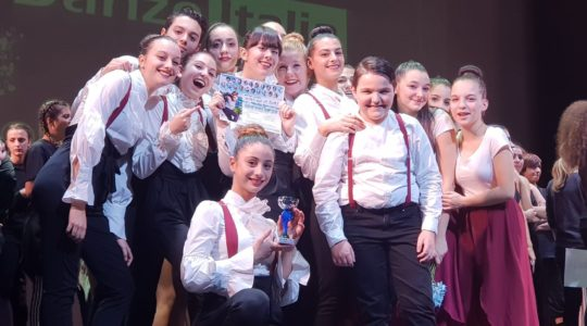 """Gli allievi della scuola di danza REvolution di Chianciano Terme sul podio al concorso internazionale """"Roma Dance Experience"""""""