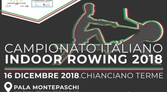 Campionato Italiano Indoor Rowing 2018 - 16 Dicembre 2018
