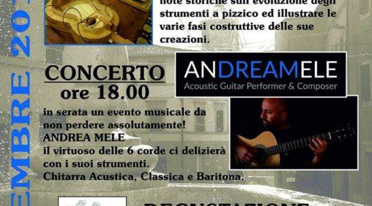 I Concerti del Centro Storico di Chianciano Terme - Liuteria Concerto e Degustazione - 29 Dicembre 2018
