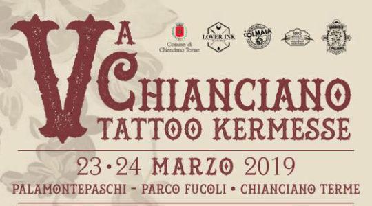 Chianciano Tatto Kermesse - 23 / 24 Marzo 2019 - 5° Edizione