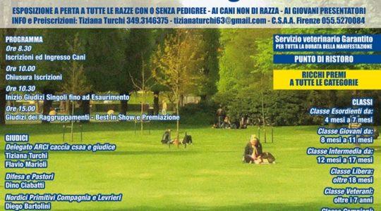 Esposizione Regionale Canina - Domenica 9 Giugno 2019 Parco Fucoli