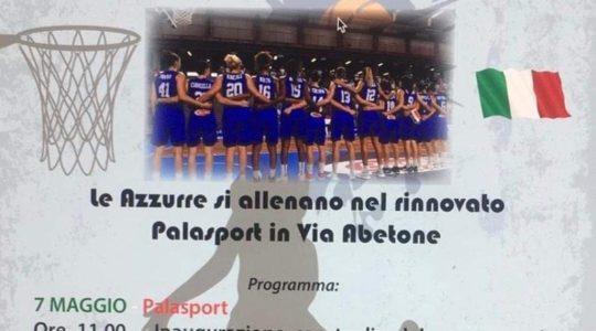 La Nazionale di Basket Femminile a Chianciano Terme