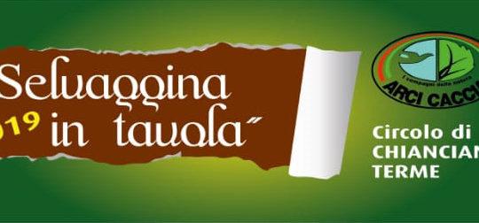 Selvaggina in Tavola - 31 maggio - 2 giugno ore 19,00