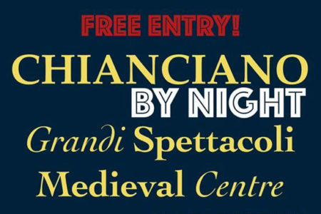 ''Chianciano by Night'' nel centro storico di Chianciano Terme
