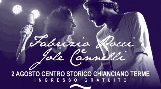 Concerto live Fabrizio Pocci, Jole Cannelli, Luca Pirozzi - 2 Agosto 2019
