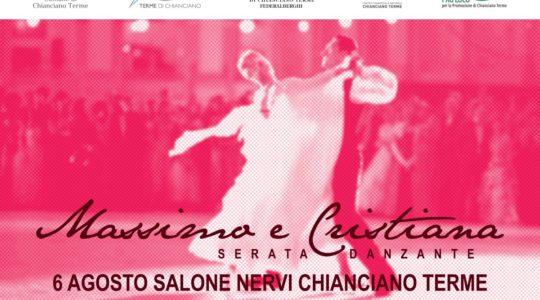 6 agosto, serata da ballo ad ingresso libero con Massimo e Cristiana