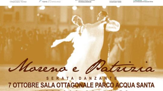 Serata da ballo con Moreno Rossi e Patrizia