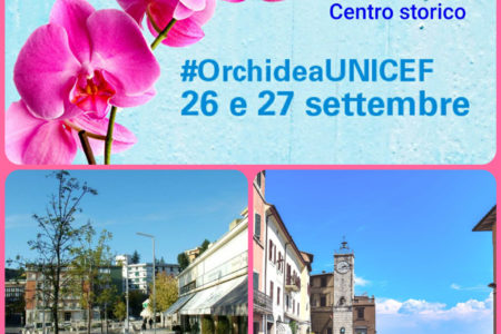 Orchidea UNICEF - 26 e 27 settembre 2020